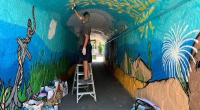 Murales sottomarino